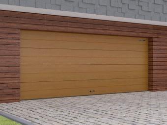 Секционные гаражные ворота из стальных сэндвич-панелей Doorhan Rsd02 (3000 X 2800) купить в Махачкале - ТД Мегаом - системы безопастности и электротовары